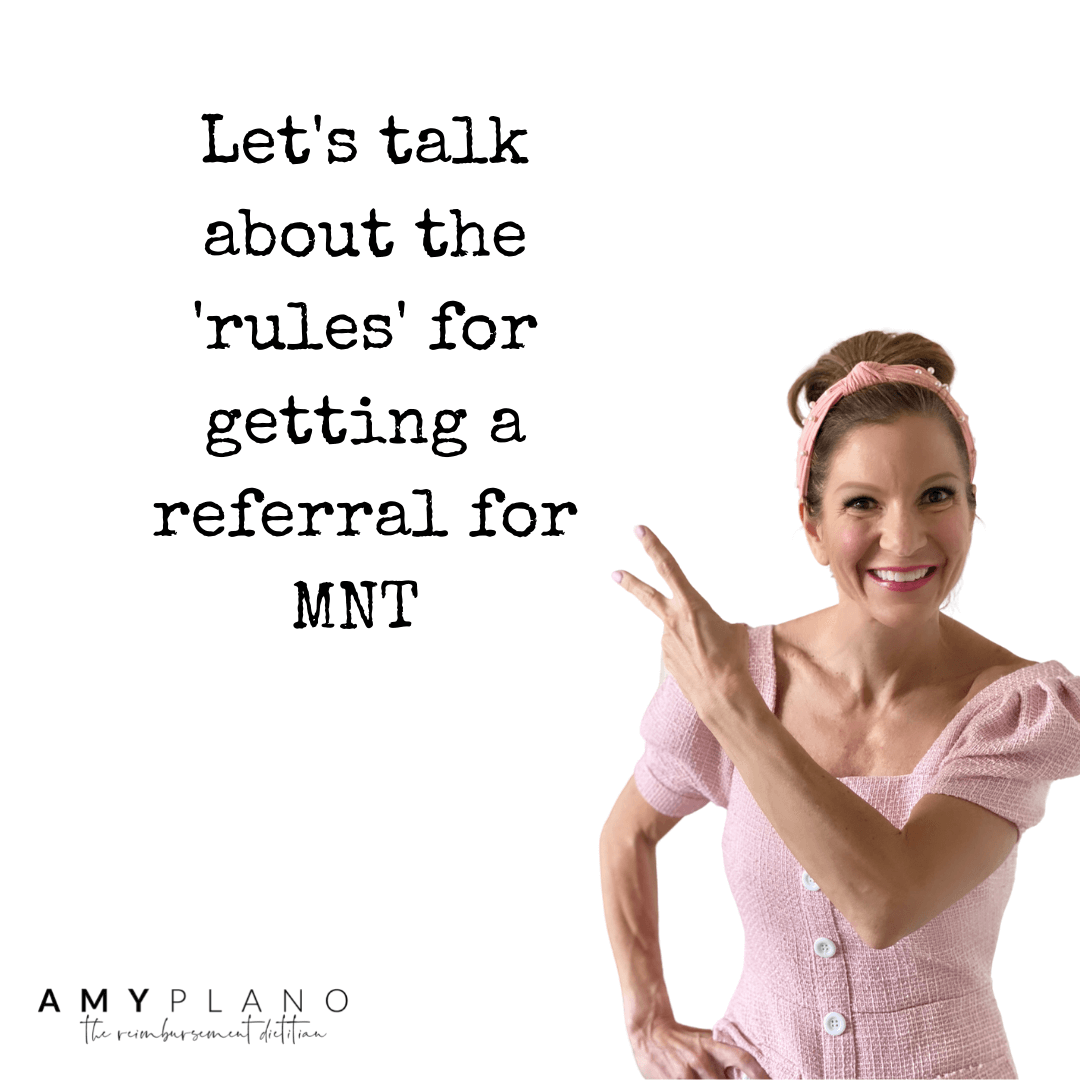 referral for MNT