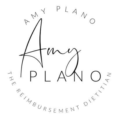 Amy Plano - The Reimbursement Dietitian Homepage