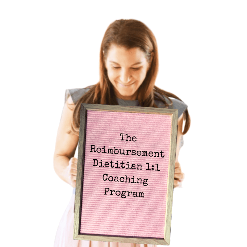The Reimbursement Dietitian Coaching Program
